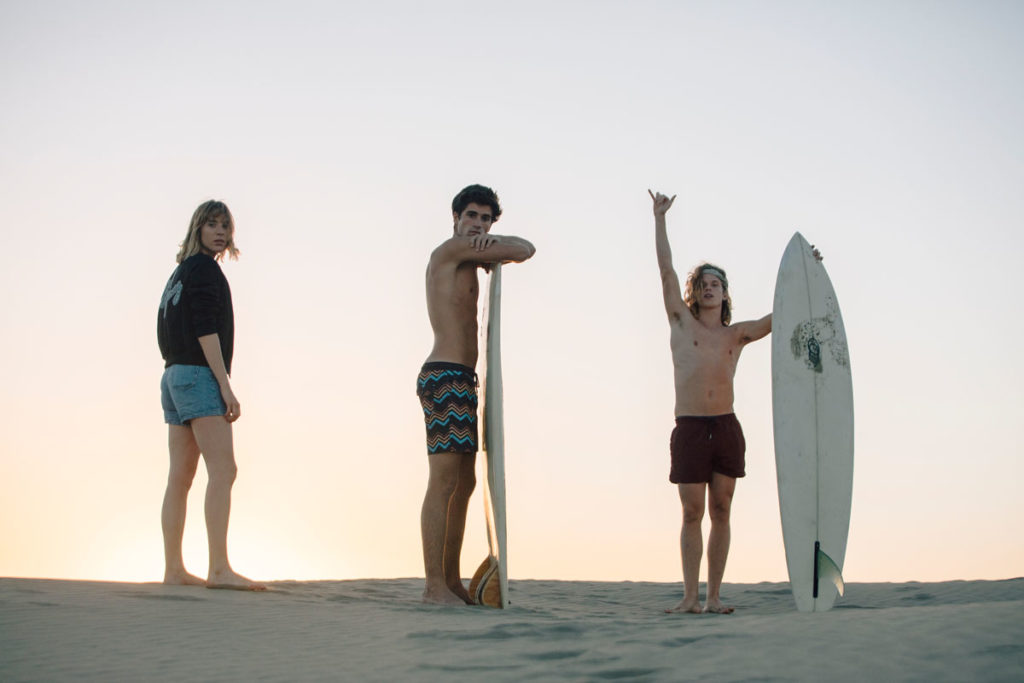 The Surf Gang with Pull&Bear by Folch