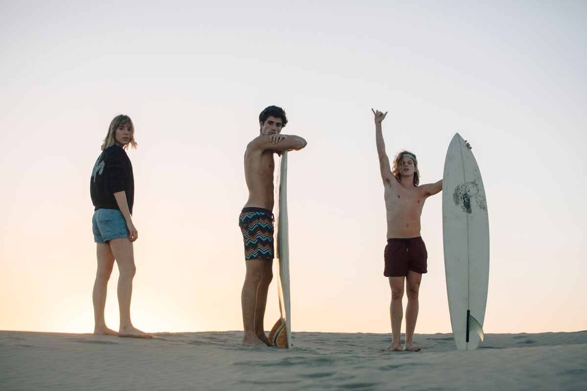 The Surf Gang with Pull&Bear