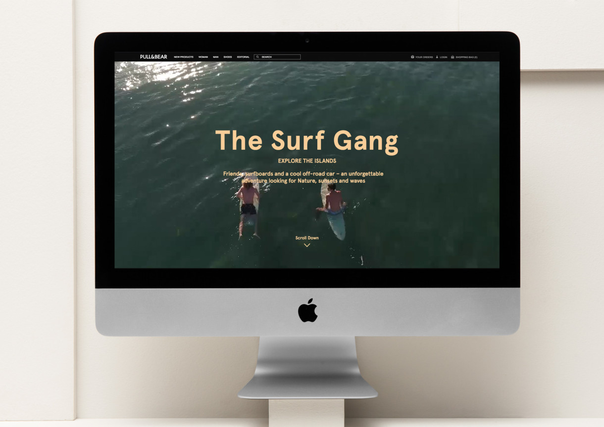 Folch - Surfing the Island with Pull&Bear