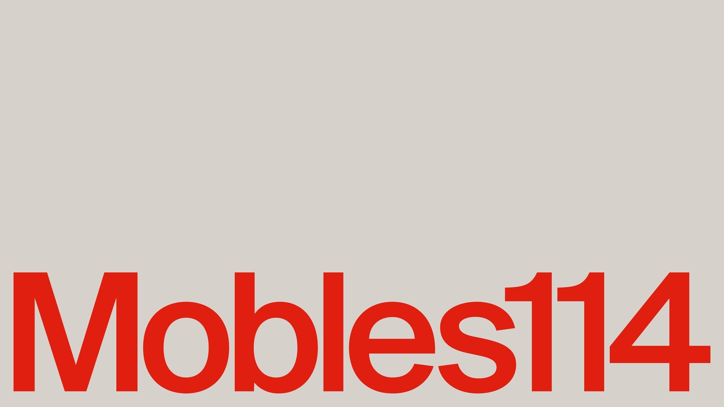 A contemporary identity for Mobles114