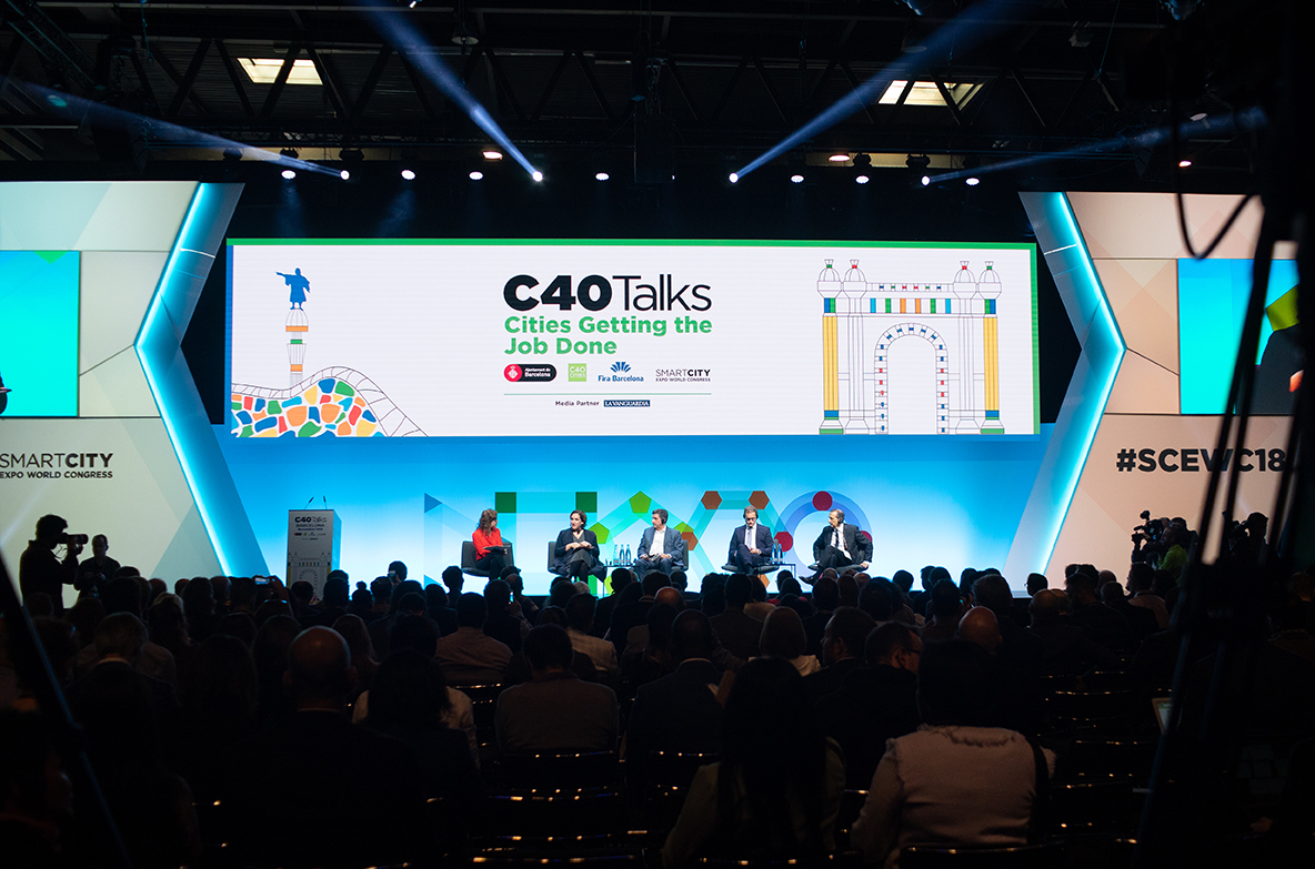 C40 Talks: PR partnership for a global event