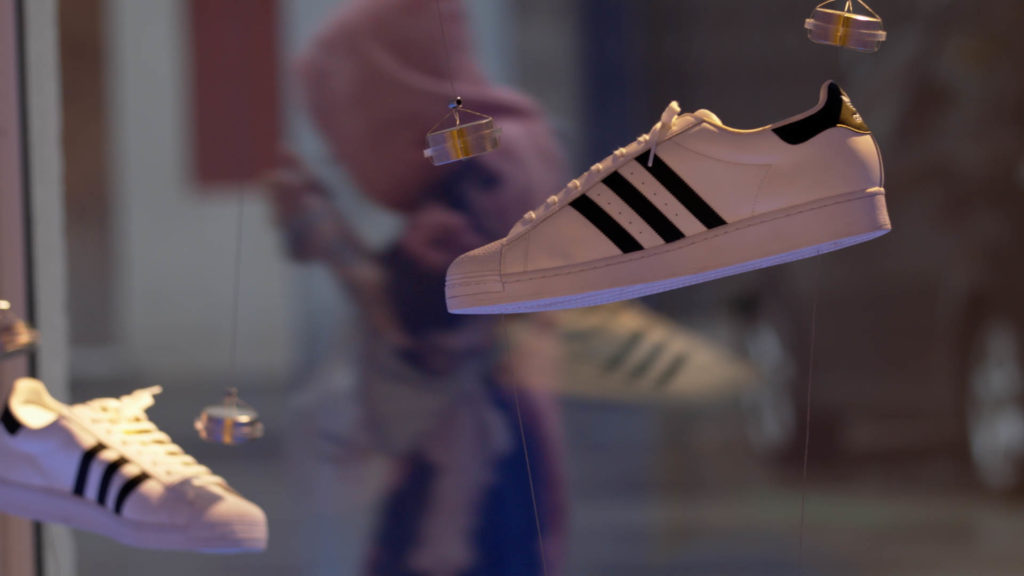 adidas Superstar at Window Gallery by Folch