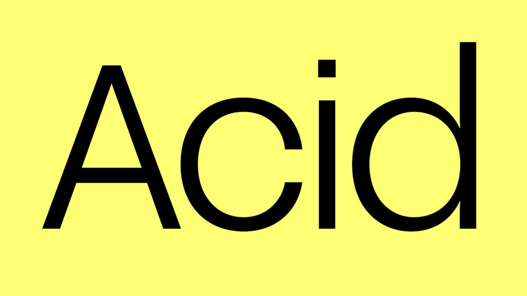 Acid Grotesk (Coming soon) by Folch