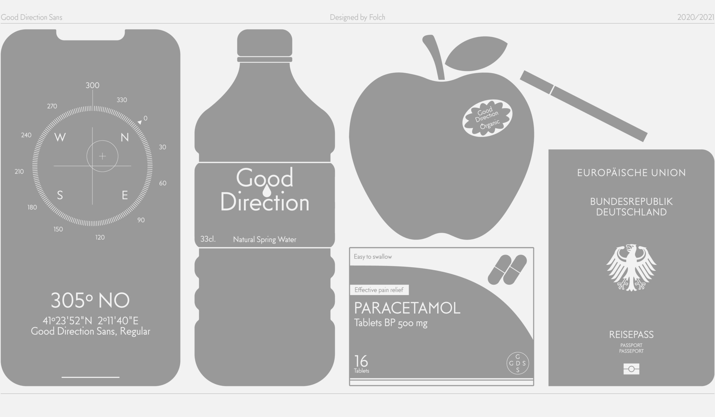 FOLCH - Good Direction Sans