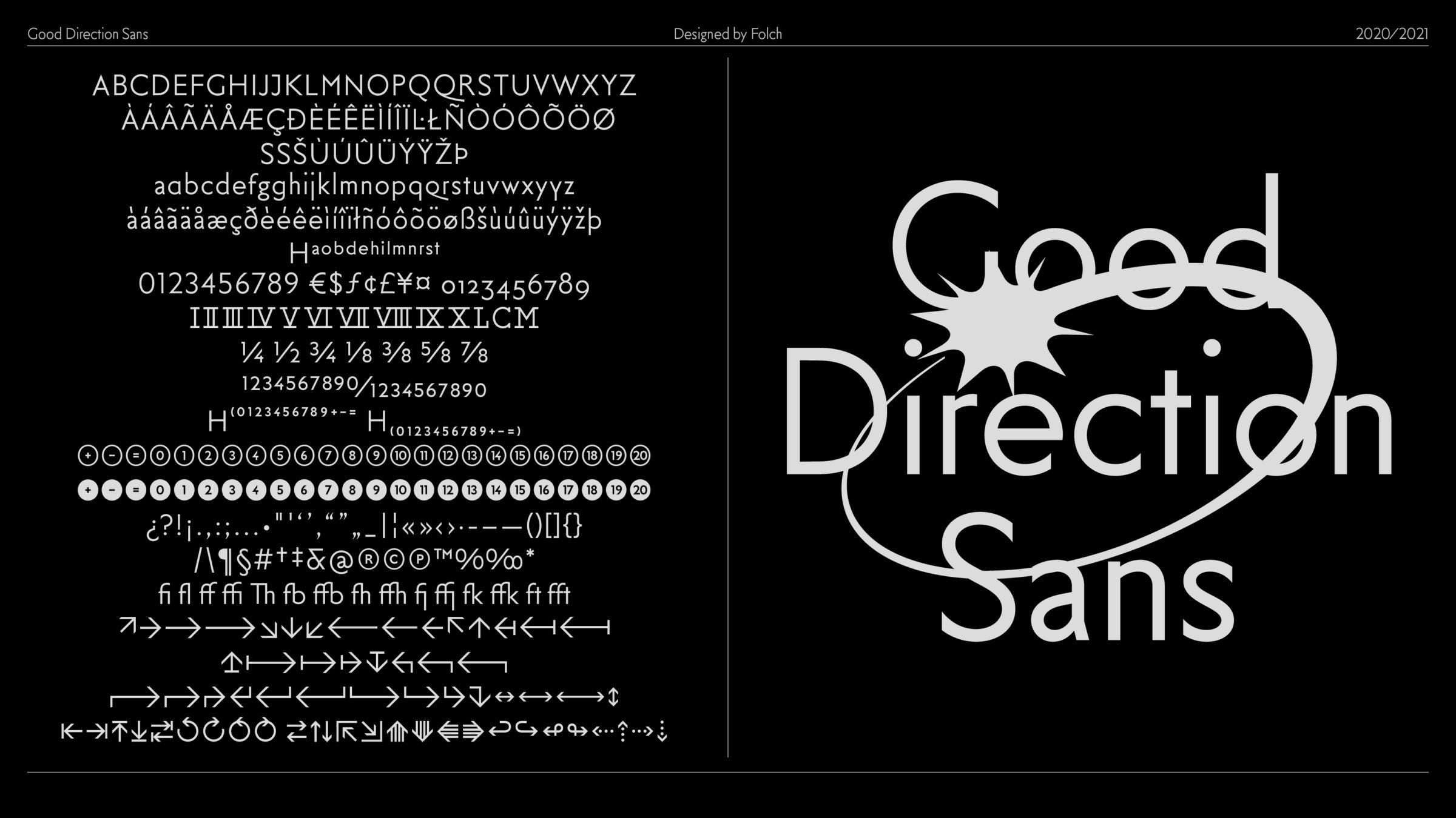 Good Direction Sans | FOLCH